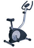 Stationary bike. Gym machine Royalty Free Stock Images