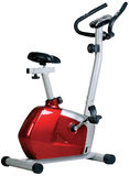 Stationary bike. Gym machine Royalty Free Stock Photography