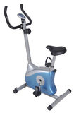 Stationary bike. Gym machine Stock Image
