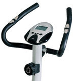 Stationary bike. Gym machine Stock Photography