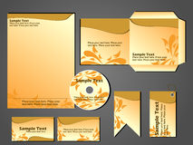 Stationary business set design vector format Royalty Free Stock Photography