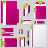 Stationary business set with personalized objects Stock Photo