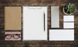 Stationary Document Paperwork Organization Concept Royalty Free Stock Photo