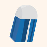 Stationary eraser theme elements vector,eps Royalty Free Stock Photos