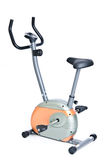 Stationary Exercise Bike 1. Stationary exercise bike isolated on white Stock Images