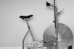 Stationary Exercise Bike Stock Photos