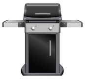 Stationary grill Royalty Free Stock Image