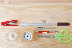 Stationary at home office Royalty Free Stock Image
