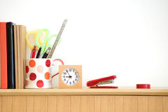 Stationary at home office Royalty Free Stock Photography