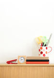 Stationary at home office Stock Images