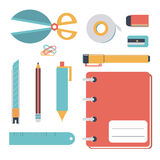 Stationary icon Royalty Free Stock Image