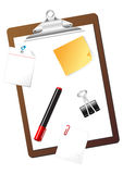 Stationary Items Royalty Free Stock Photography