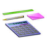 Stationary for school or work Stock Photos