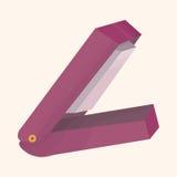 Stationary stapler theme elements vector,eps. Vector illustration file Royalty Free Stock Image