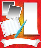 Stationary Template Stock Photo