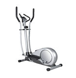 Stationary training bicycle Stock Images