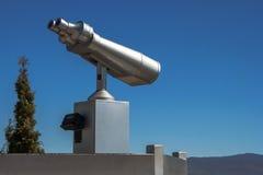 Stationary viewing binoculars Stock Photography