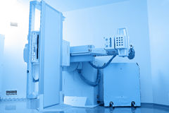 Stationary X-ray device in the cabinet Stock Photos