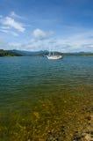 Stationary yacht Royalty Free Stock Photography