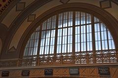 Stationen av Chattanoogaen Choo Choo i Chattanooga Tennessee USA fotografering för bildbyråer