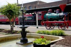 Stationen av Chattanoogaen Choo Choo i Chattanooga Tennessee USA arkivfoto