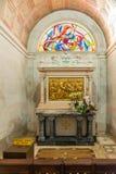 Stationen des Kreuzes ( Über crucis) inneres Schongebiet von Fatima Lizenzfreies Stockbild