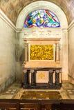 Stationen des Kreuzes ( Über crucis) inneres Schongebiet von Fatima Stockbild