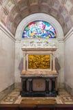 Stationen des Kreuzes ( Über crucis) inneres Schongebiet von Fatima Lizenzfreies Stockfoto