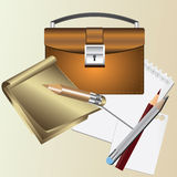 Stationery. Stock Images