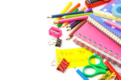 Stationery Royalty Free Stock Photos