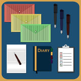 stationery Foto de Stock Royalty Free