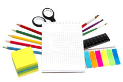 Stationery - back to school Stock Photo