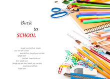Stationery. Back to school concept Stock Photos