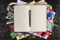 Stationery - Back to School - Space for Text Royalty Free Stock Photo