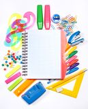 Stationery Background Royalty Free Stock Photo