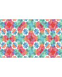 Stationery Background with Colouful Decorated Borders. Stationery white background with colorful decorated design borders Stock Images