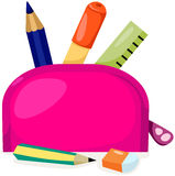 Stationery bag Stock Photos