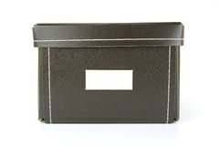 Stationery Boxes Royalty Free Stock Photography