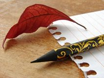 Stationery classic Royalty Free Stock Photography