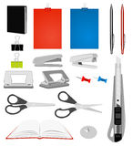 Stationery collection Stock Images