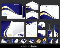 Stationery design Royalty Free Stock Photos