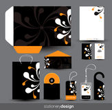 Stationery design set Stock Images