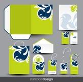 Stationery design set Royalty Free Stock Photo