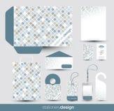 Stationery design set Stock Images