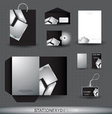 Stationery design set Royalty Free Stock Photos