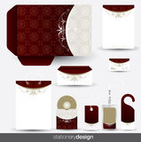 Stationery design set Stock Photography