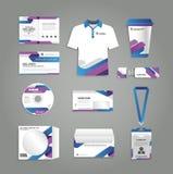 Stationery design Stock Photos