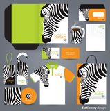 Stationery design set design. Stock Images