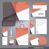 Stationery design set. Stock Photos