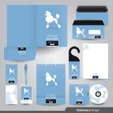 Stationery design set. Stock Photo